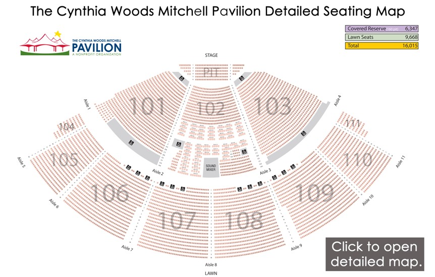 The woodlands pavilion seating chart chris stapleton 2017 10 27